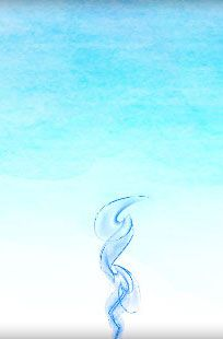 flamme sacrée bleue