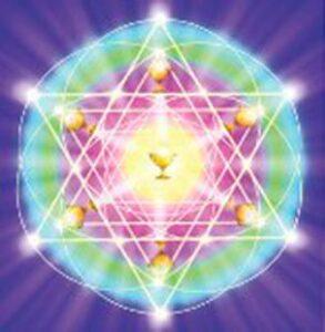 Mandala flammes sacrées