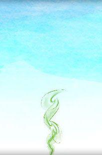 flamme sacrée verte